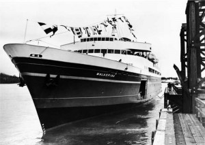 MV Malaspina in 1963 - Photo Credit: Alaska Division of Tourism