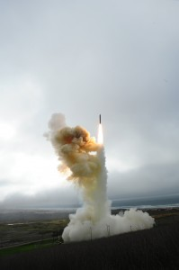 Alaska Based Ballistic Missile Interceptors being tested at Vandenberg Air Force Base, California - Photo by US Army