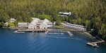 Aerial View of Waterfall Resort Alaska