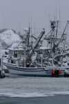 A Snowy Valdez, Alaska Harbor Photo: Alan Sorum