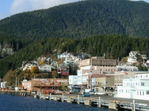 Ketchikan Alaska Waterfront - Alan Sorum