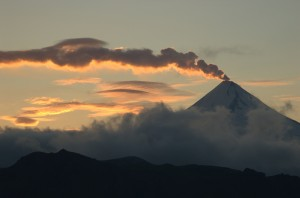 Shishaldin Volcano on Unimak Island, part of Izembek National Wildlife Refuge, Alaska. Credit: USF&WS.