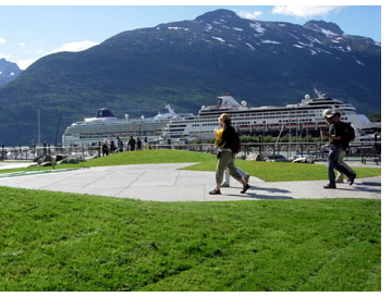 Port of Skagway - Gateway to White Pass and the Yukon