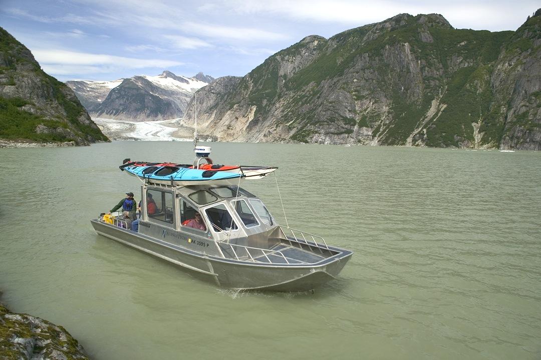 Boating on the International Stikine River