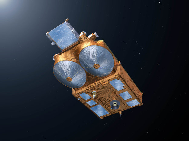 CryoSat asa Seen From Underneath