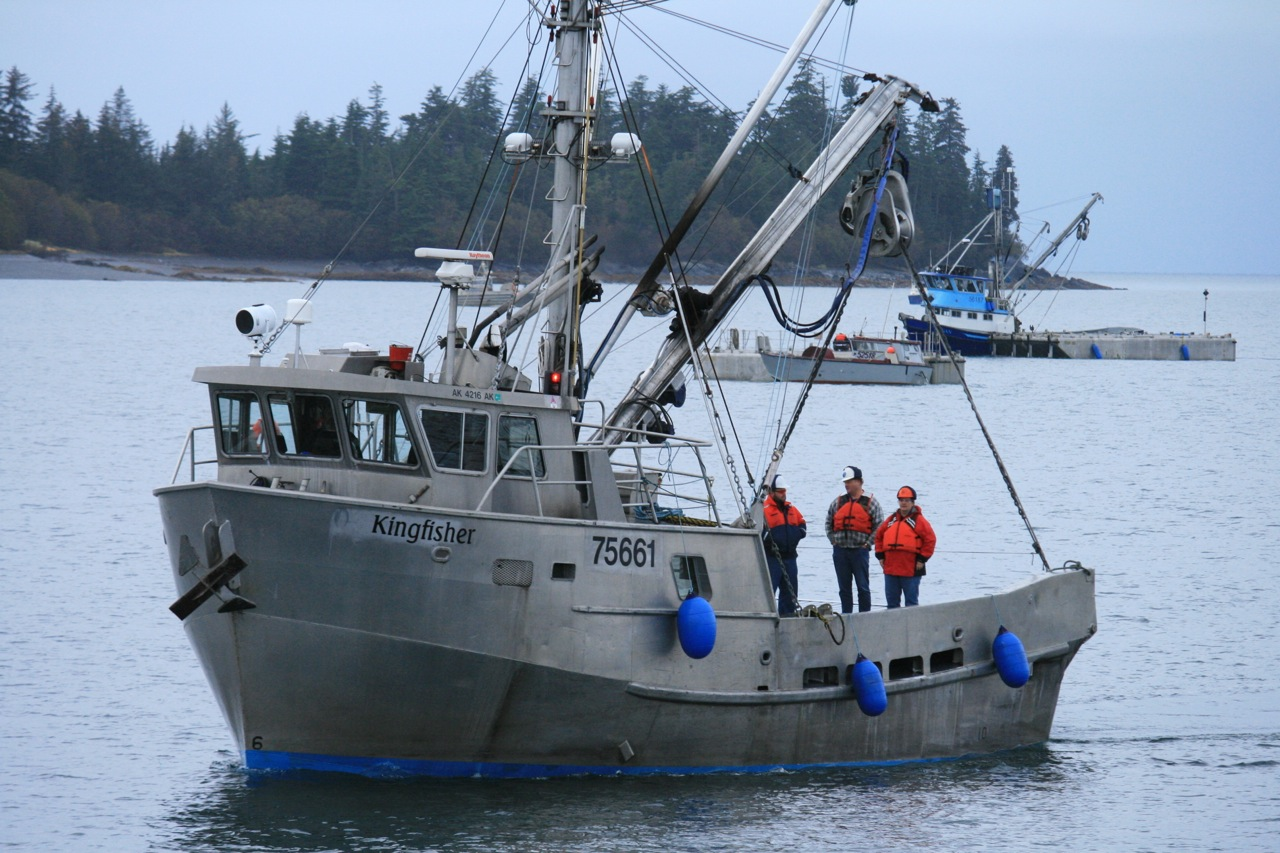 Alaska purse seiner alan sorum information about alaska for Alaska fishing boats