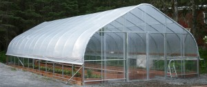 Alpine Garden & Hearth Company High Tunnel Greenhouse