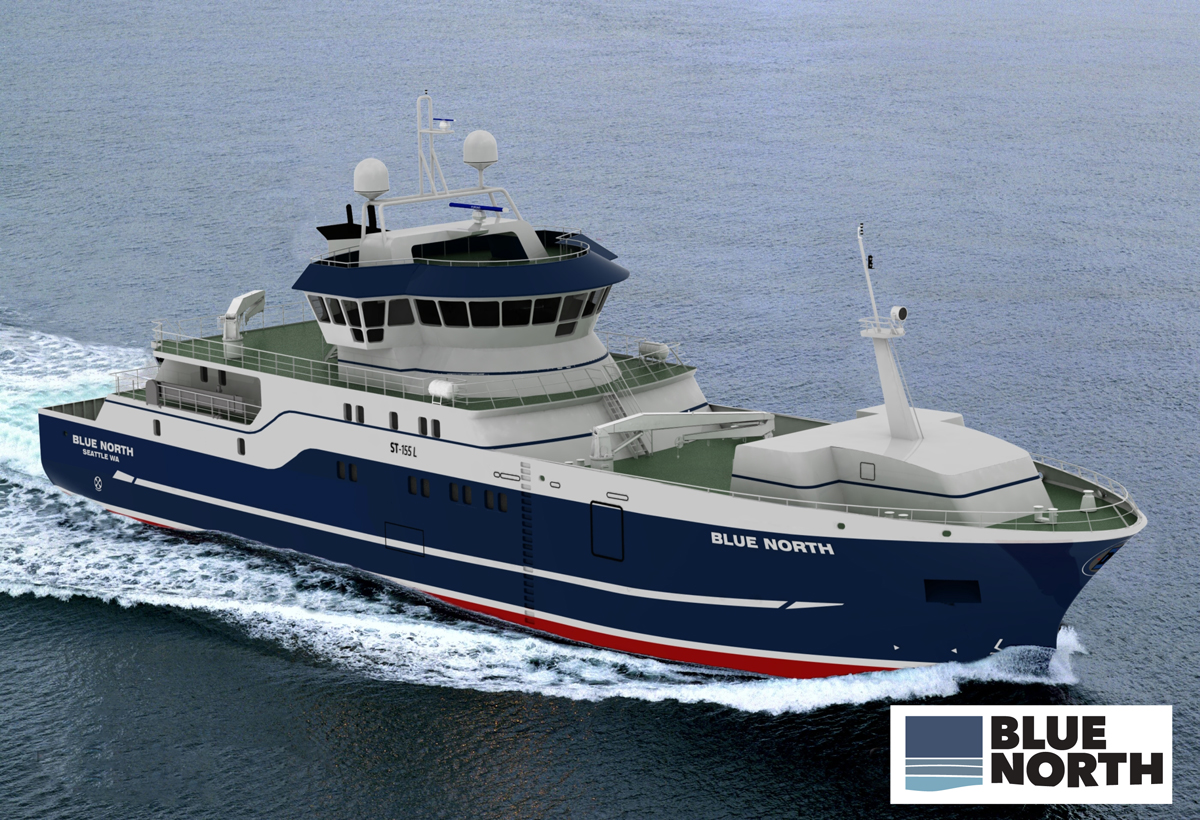 Sustainable fishing boat being built for alaska fishery for Alaska fishing boats