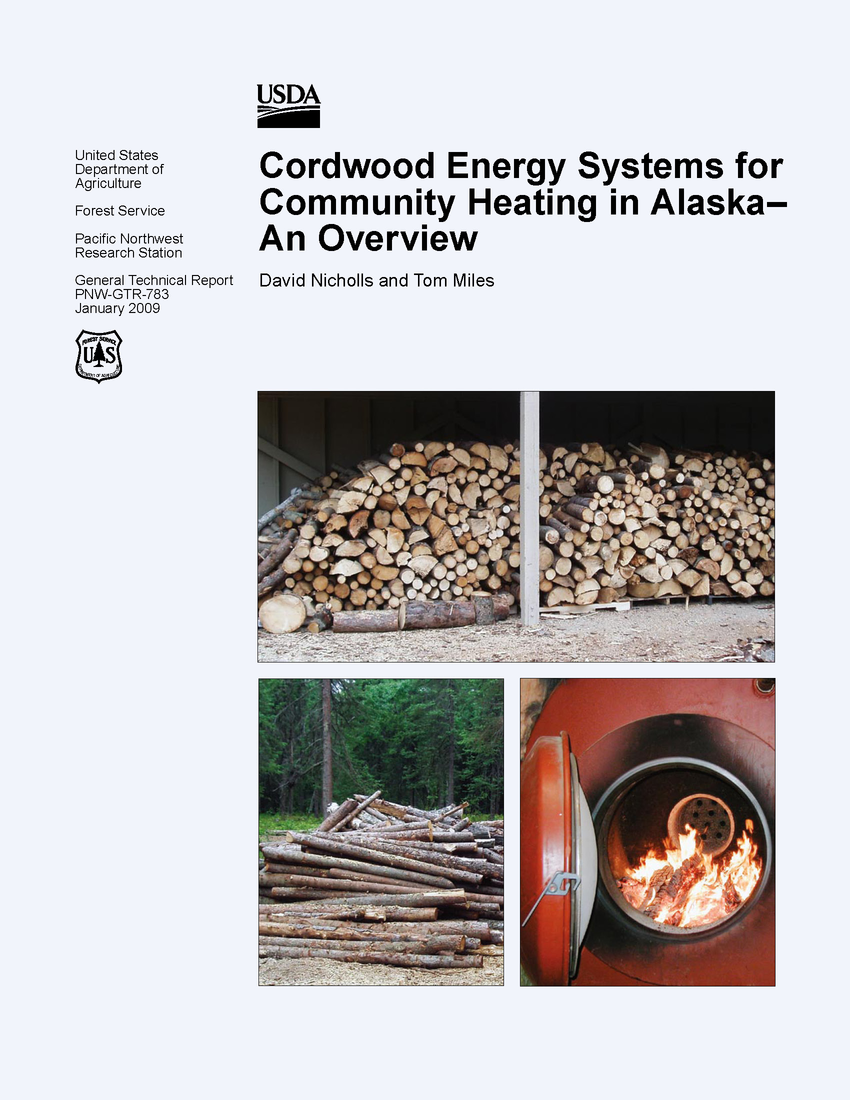 An Overview of Cordwood Energy Systems for Community Heating in Alaska