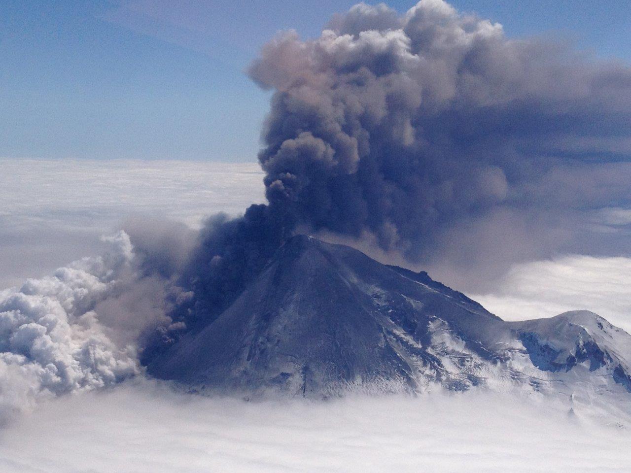 Pavlof Volcano - Photo by Brandon Wilson
