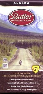 Cover of Butler Alaska Motorcycle Map