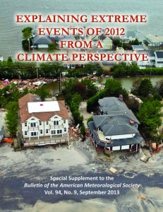 Explaining Extreme Events of 2012 from a Climate Perspective Cover