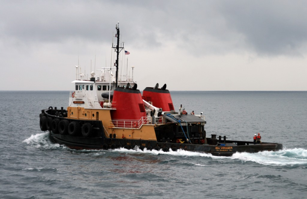 Crowley Tug Sea Voyager Participating in an Emergency Towing Exercise