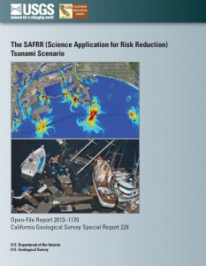 Science Application for Risk Reduction (SAFRR) Tsunami Scenario Cover