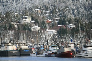 Sitka Harbor in the Winter