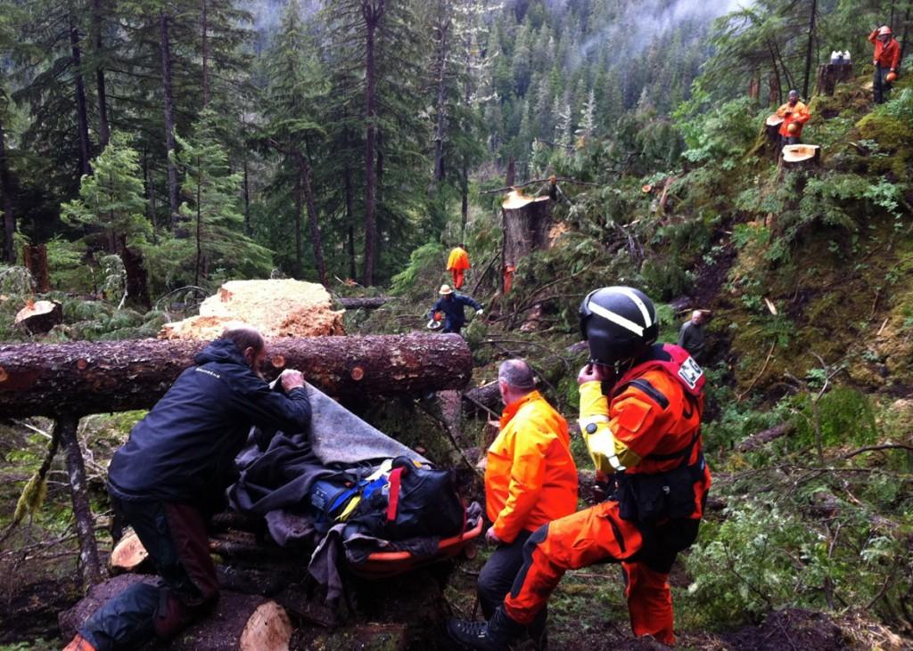 Hetta Logging Camp Medevac