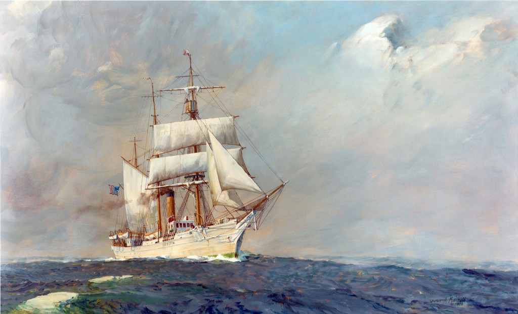 Revenue Cutter Bear in Alaska