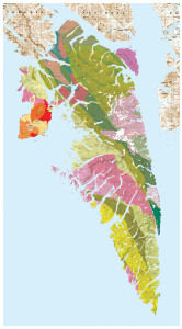 Geologic Map of Baranof Island